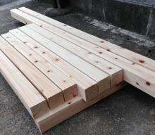 犬小屋木材
